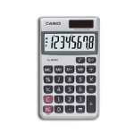 Casio SL-300SV calculator Pocket Display Silver