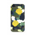 Tucano Brio Camouflower mobile phone case Cover Green,Grey
