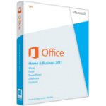 Microsoft Office Home and Business 2013 1 license(s) English