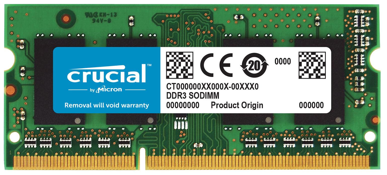 Crucial 8GB DDR3-1333 SO-DIMM CL9 módulo de memoria 1333 MHz