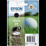 Epson Golf ball Singlepack Black 34 DURABrite Ultra Ink