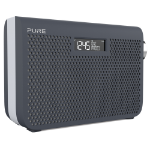 Pure One Midi Series 3s Portable Analog & digital Grey, White radio