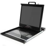 "StarTech.com RACKCONS1916 rack console 19"" 1280 x 1024 pixels Steel Black 1U"