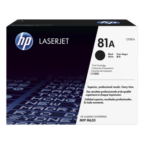 HP CF281A (81A) Toner black, 10.5K pages