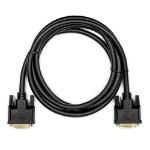 """Rocstor 1.8m, 2xDVI-D DVI cable 70.9"""" (1.8 m) DVI-D Black"""
