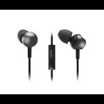 Panasonic RP-TCM360E-K In-ear Binaural Wired Black mobile headset