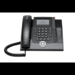 Auerswald COMfortel 1200 IP Analog telephone Caller ID Black