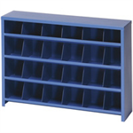FSMISC 24 SLOT PIGEON HOLE UNIT BLUE 383103109
