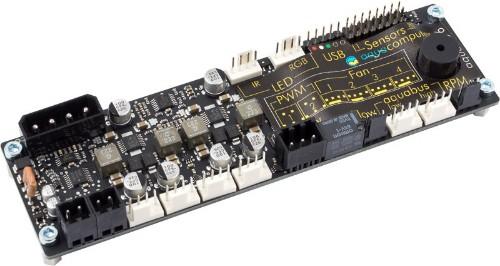 Aqua Computer 53234 fan speed controller 4 channels Multicolor