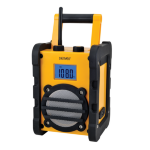 Denver WR-40 MK3 (3 PCS/EX. CARTON) radio Portable Analog Black,Yellow