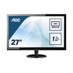 "AOC Q2778VQE computer monitor 68.6 cm (27"") 2560 x 1440 pixels Wide Quad HD LED Black"