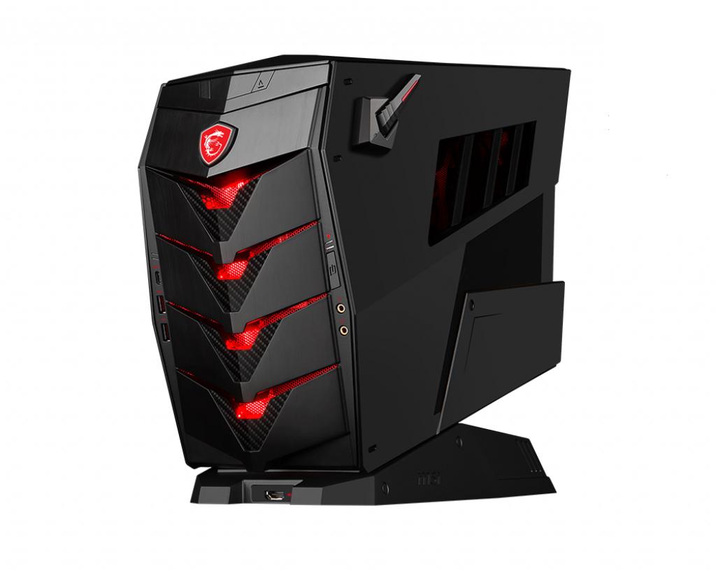 MSI Aegis 3 8RC 084UK - Tower - 1 x Core i7 8700 - RAM 8 GB - SSD 128 GB, HDD 1 TB - GF GTX 1060 - G