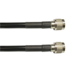 Ventev 400UF-07-07-P15 coaxial cable 4.57 m N-Style Black