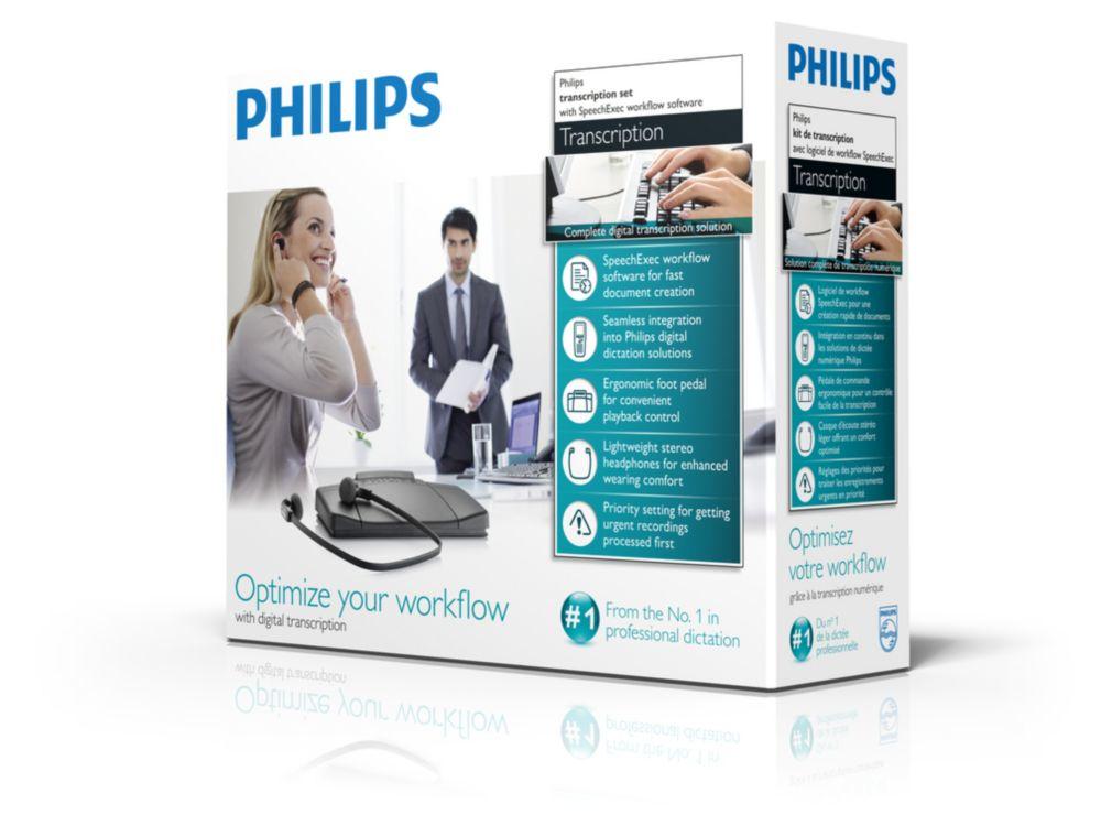 Philips SpeechExec transcription set