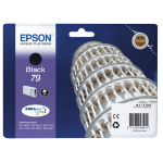 Epson C13T79114010 (79) Ink cartridge black, 900 pages, 14ml