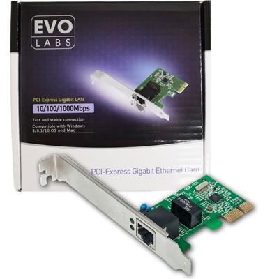 EVO LABS PCI-Express Gigabit Network Card