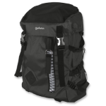 "Manhattan Zippack 15.6"" Backpack Black"