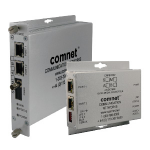 ComNet CNFE2002M1B/M network media converter 100 Mbit/s 1550 nm Multi-mode