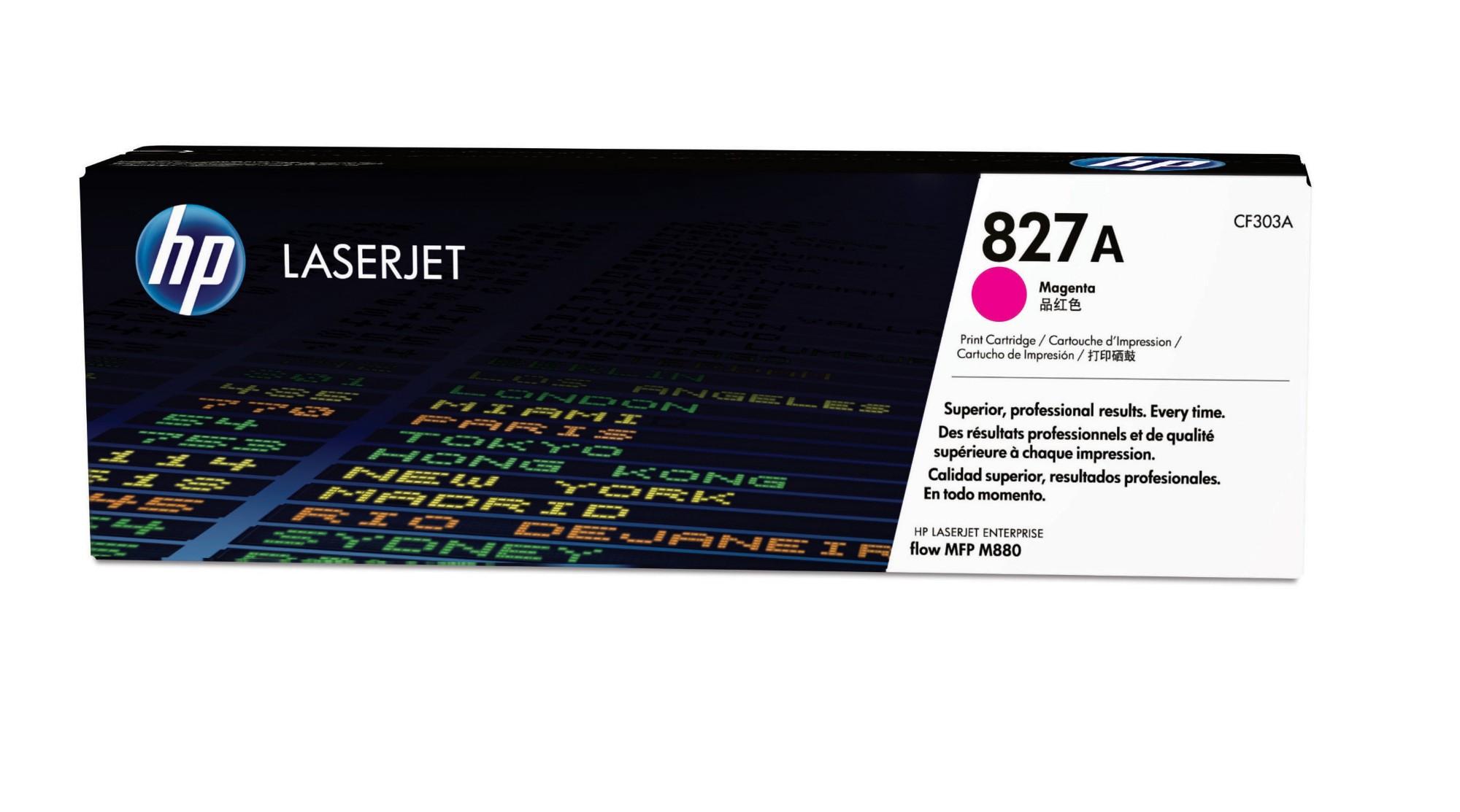 HP CF303A (827A) Toner magenta, 32K pages