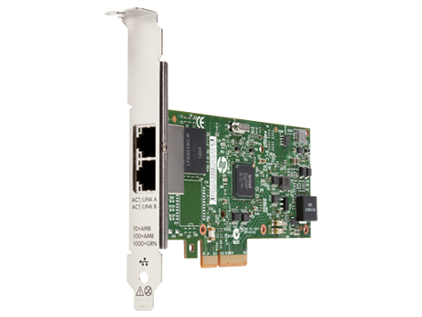 Hewlett Packard Enterprise 361T PCIe Dual Port Gigabit NIC