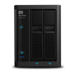 Western Digital My Cloud PR2100 NAS Desktop Ethernet LAN Black