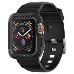 Spigen 062CS25324 smartwatch-accessoire Opbergtas Zwart Thermoplastic polyurethaan (TPU)