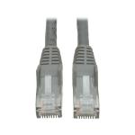 Tripp Lite Cat6, 15ft 4.57m Cat6 U/UTP (UTP) Grey networking cable