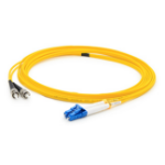 """AddOn Networks ADD-ST-LC-3MS9SMF fiber optic cable 118.1"""" (3 m) OS1 Yellow"""