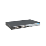 Hewlett Packard Enterprise 1920-24G-PoE+ (370W) Managed L3 Gigabit Ethernet (10/100/1000) Power over Ethernet (PoE) Grey