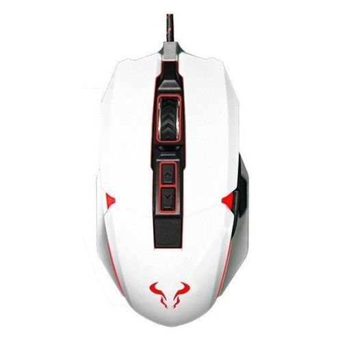RIOTORO AUROX Prism Wired Optical RGB Gaming Mouse, USB, 10,000 DPI, RGB, 8 Programmable Buttons