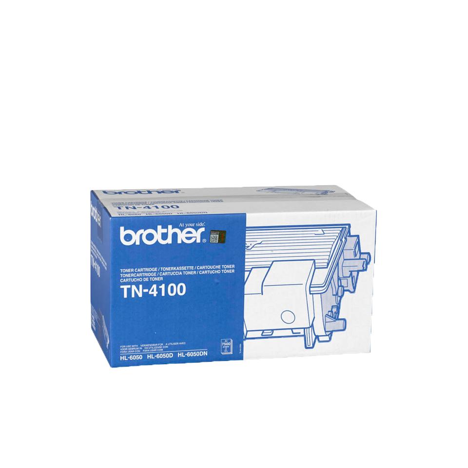 Brother TN4100 Original Negro 1 pieza(s)