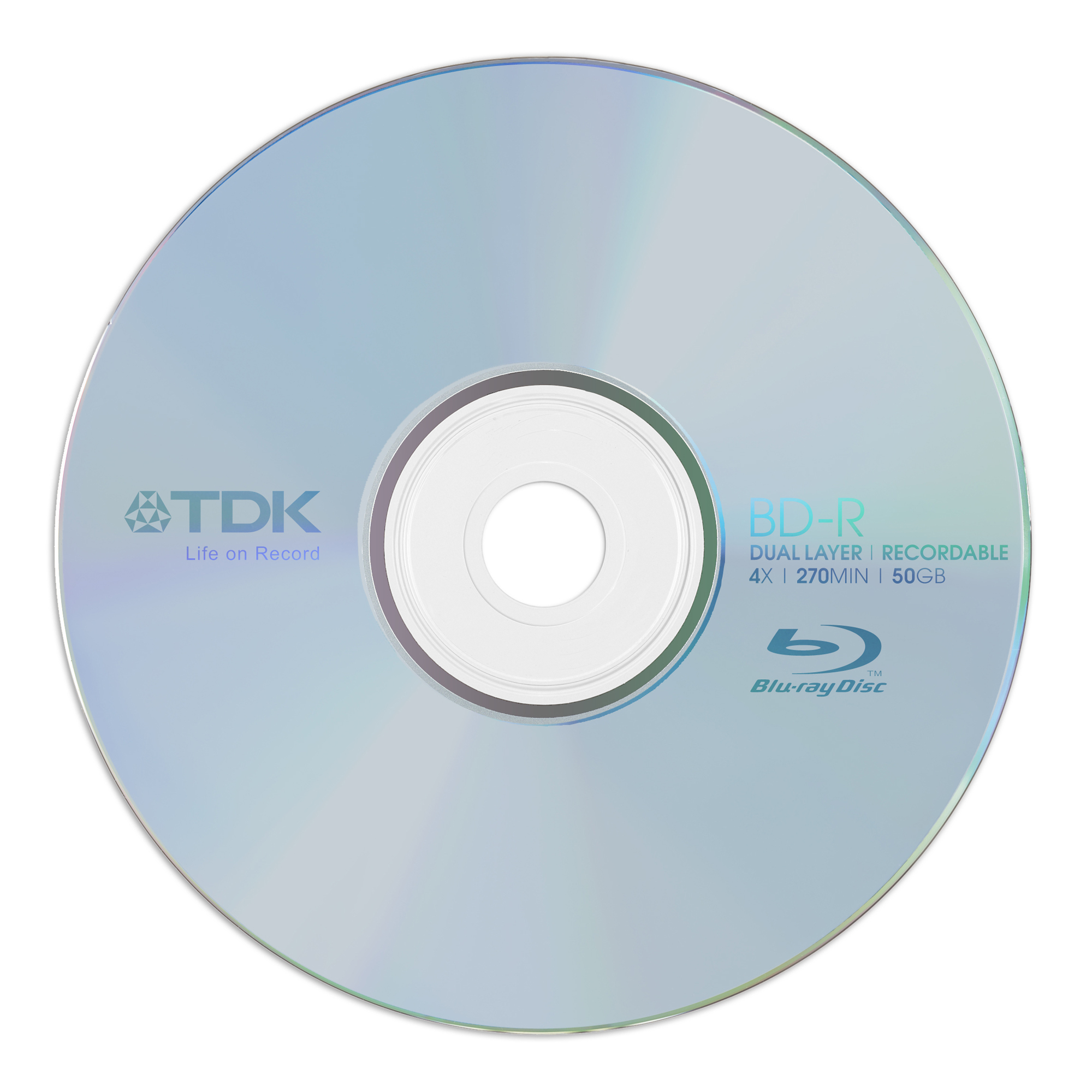Blu-ray Recordable 50GB Blu-ray Disc