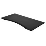 Tripp Lite WWTOP60-BKC MDF Black computer desk top