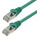 MCL 3m Cat6a S/FTP cable de red S/FTP (S-STP) Verde