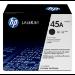HP Cartucho de tóner original LaserJet 45A negro