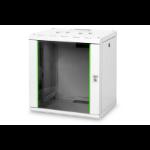 Digitus DN-19 12-U rack cabinet 12U Wall mounted rack Grey