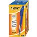 BIC M10 clic Clip-on retractable ballpoint pen Medium Blue 50pc(s)