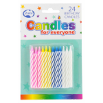 ALPEN CANDLES ALPEN BIRTHDAY (NO HOLDERS) PK24(EACH)