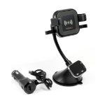 Technaxx FMT1200BT Mobile phone/Smartphone Black Active holder