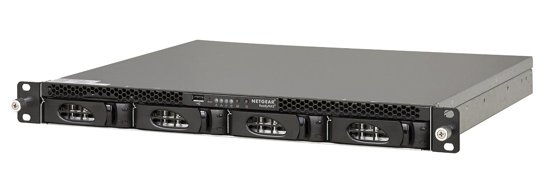 Netgear ReadyNAS 3138 Ethernet Bastidor (1U) Negro NAS