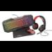Trust GXT 788RW keyboard Black