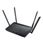 ASUS (DSL-AC52U) AC750 (300+433) Wireless VDSL/ADSL2+ Dual Band GB Modem Router, USB