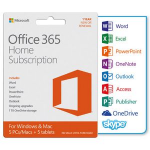 Microsoft Office 365 Home 1YR Subscription Medialess P4