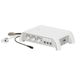 C2G Legrand Meeting Room Multi-Outlet - with Non-Manageable Switch + HD15 + Jack Socket - French Standard