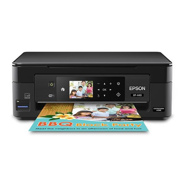 EPSON XP440 Multifunction Inkjet Printer - Print, Scan, Copy
