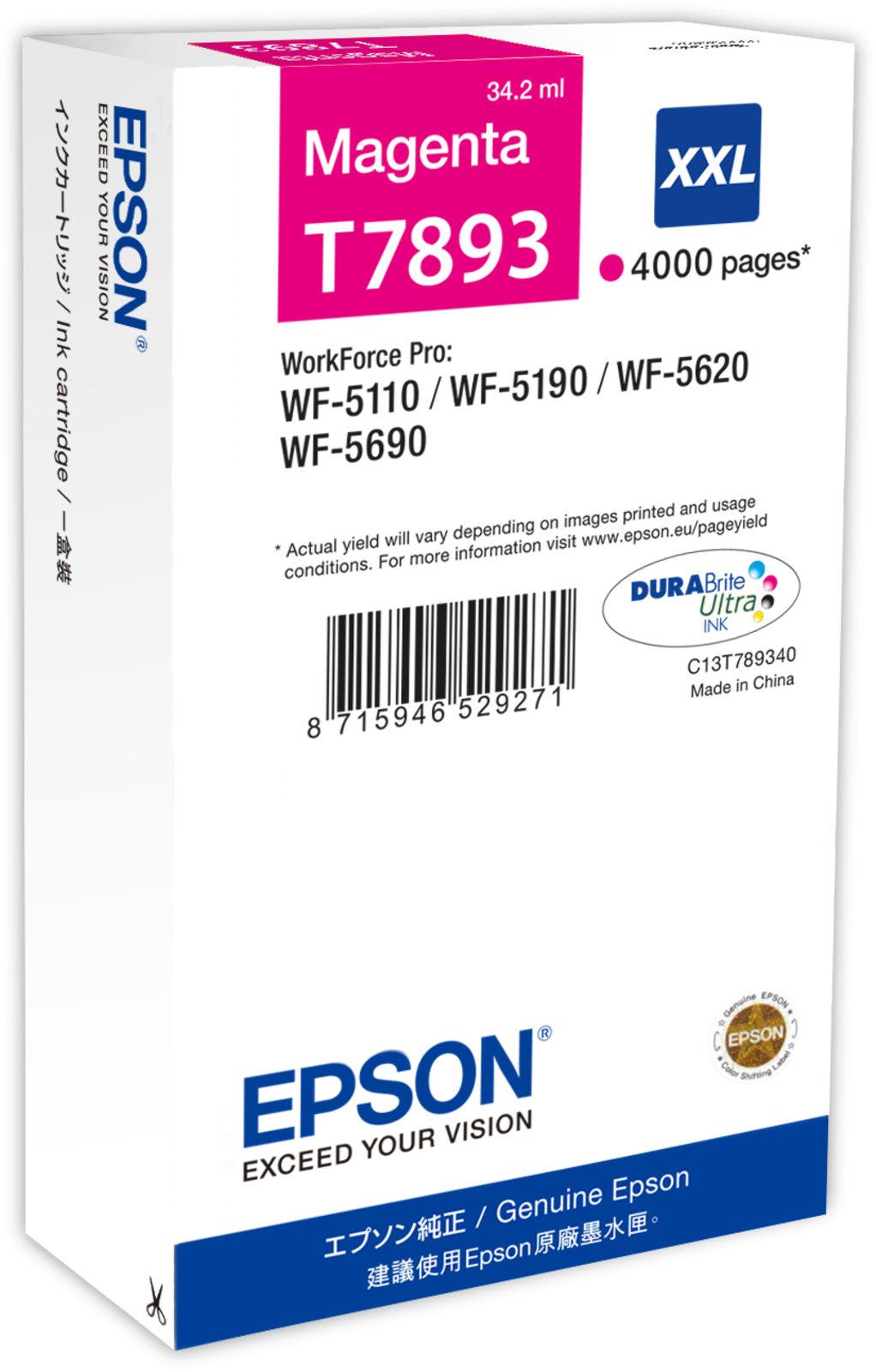 Epson Ink Cartridge XXL Magenta