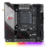 Asrock X570 PHANTOM GAMING-ITX/TB3, AMD X570, AM4, Mini ITX,  HDMI, DP, Wi-Fi, PCIe4, RGB Lighting, Thunder