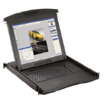 "Austin Hughes Electronics Ltd N117-U801E_EU 17"" 1280 x 1024pixels Black rack console"