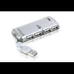 Aten UH275 interface hub 480 Mbit/s Silver