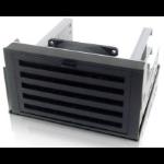 "iStarUSA TC-ISTORM7 2x 5.25"" Bezel panel Black drive bay panel"